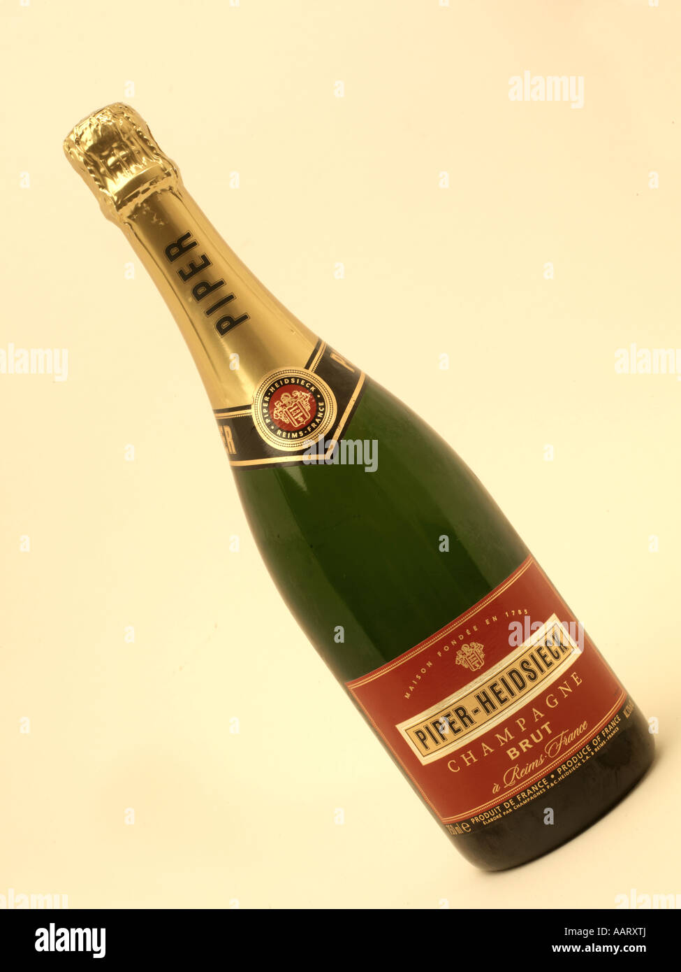 Piper Hiedsieck Champagne - Stock Image