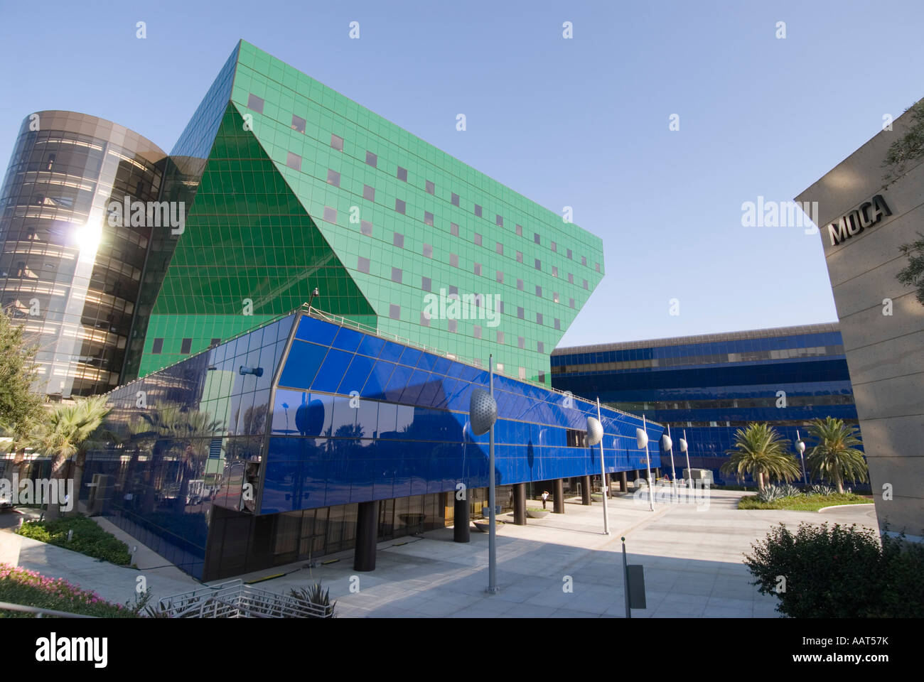 Pacific Design Center, Los Angeles, California Stock Photo