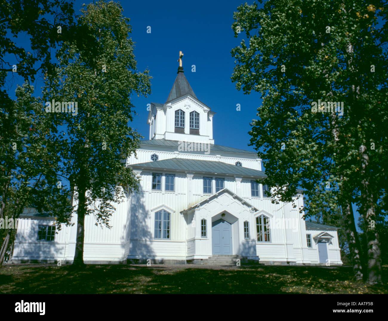 Gällivare Church, Gällivare, Lappland, Norrbottens Län, Sweden. - Stock Image