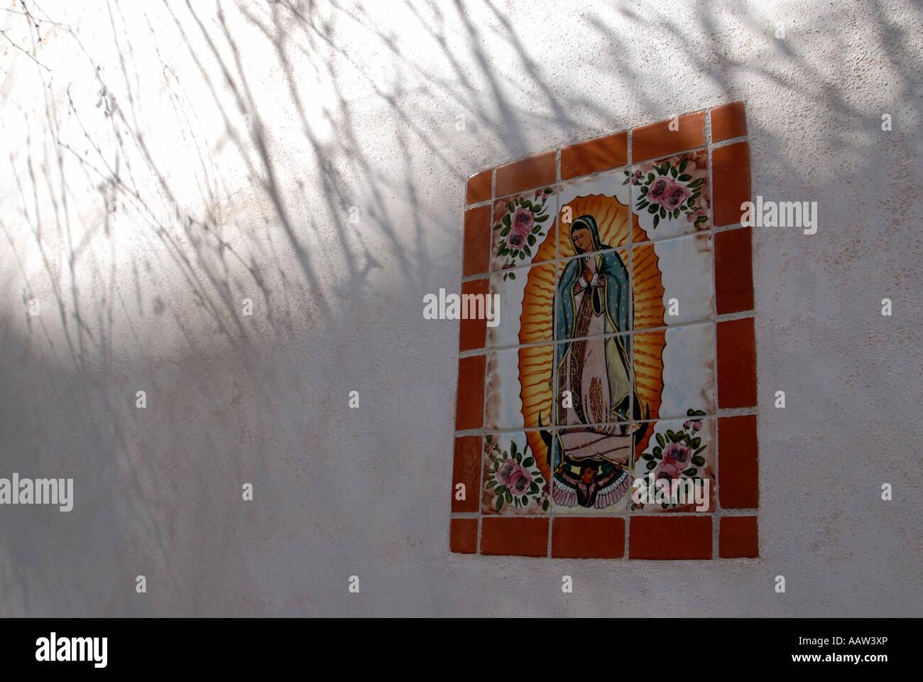 Icon Tile Work : Mexican terra cotta stock photos