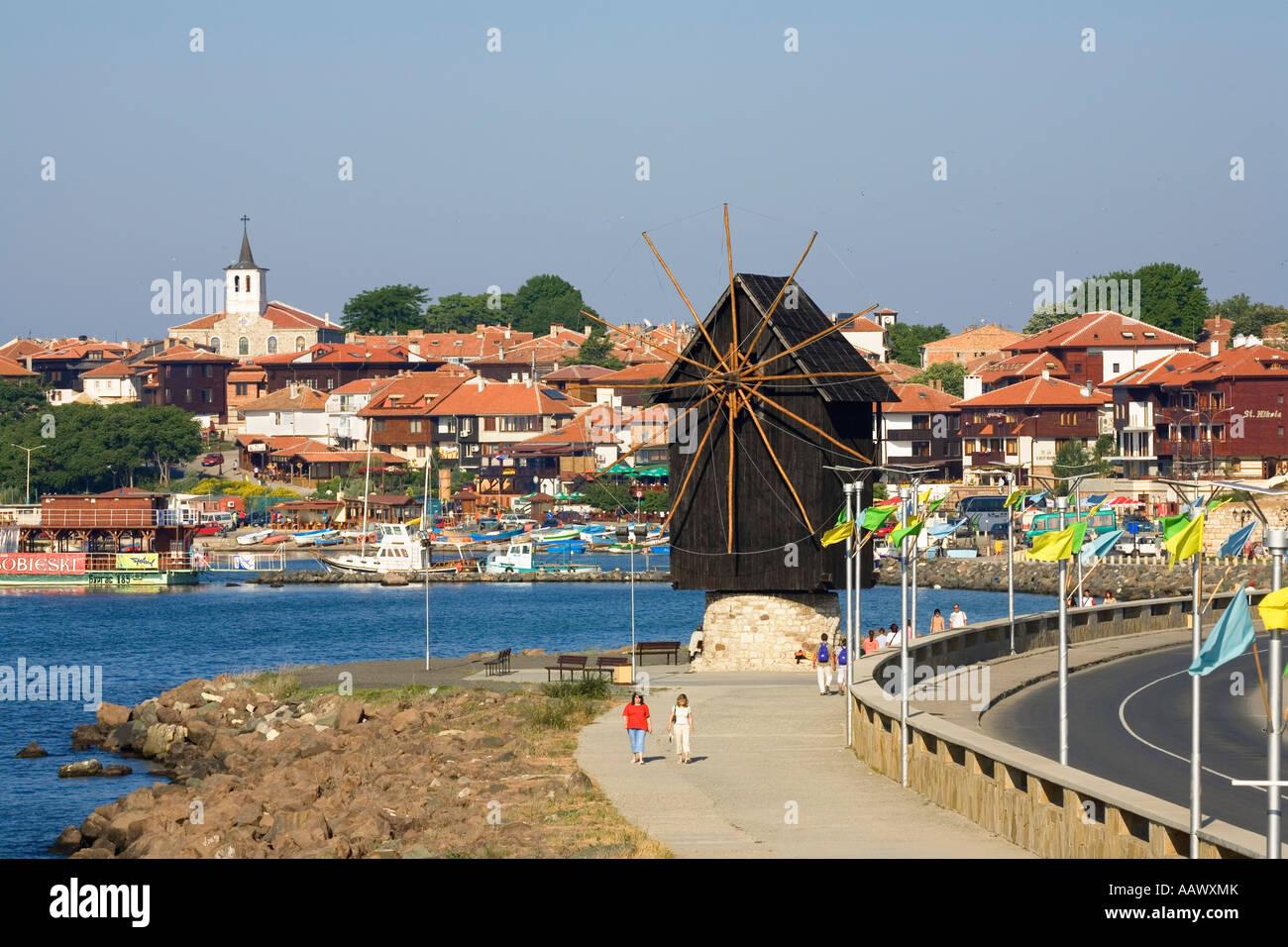 Town museum Nesebar, Black Sea, Bulgaria - Stock Image