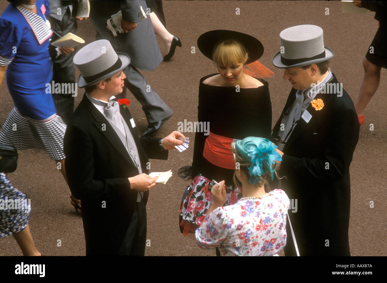 Horse races at Ascot. - Stock Image