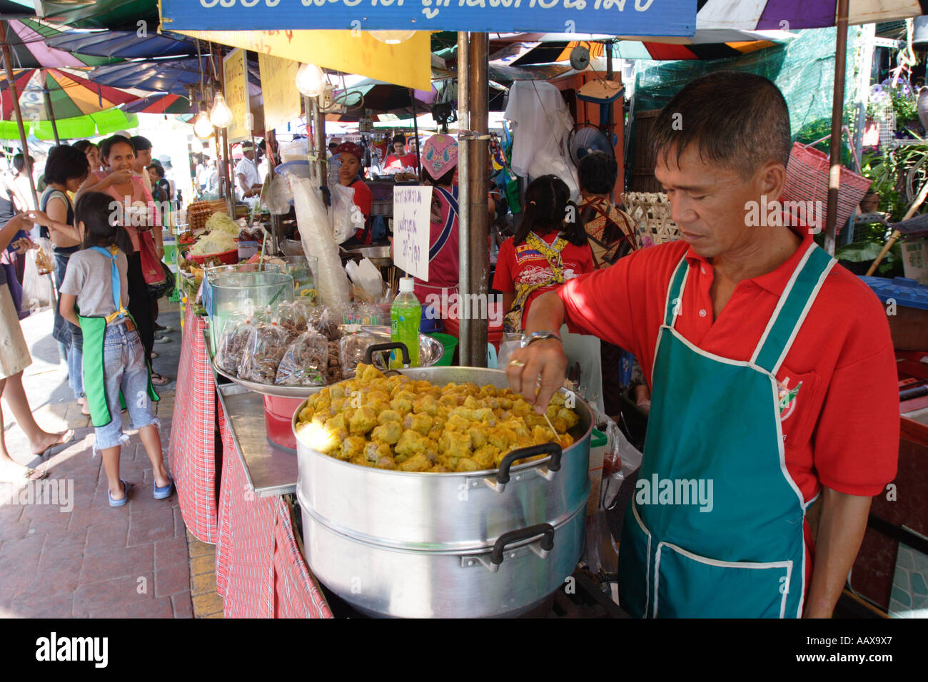 Chatuchak Weekend Market in Bangkok, Thailand - Stock Image
