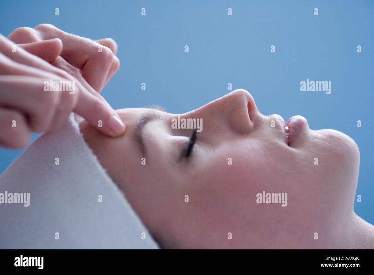 Facial Rejuvenation Therapy - Stock Image