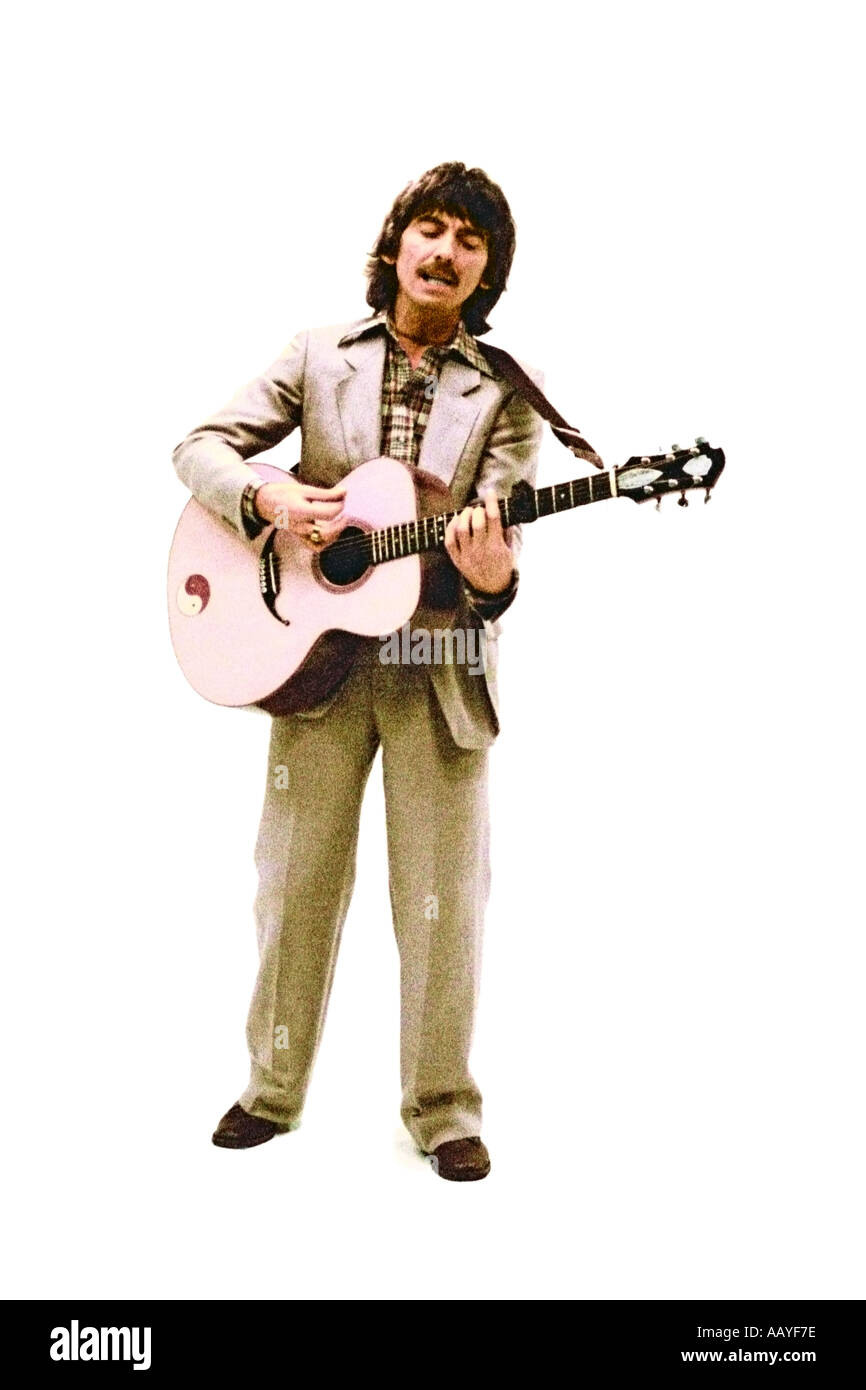 George Harrison making music video for his single Blow Away 1978. PER0041 - Stock Image