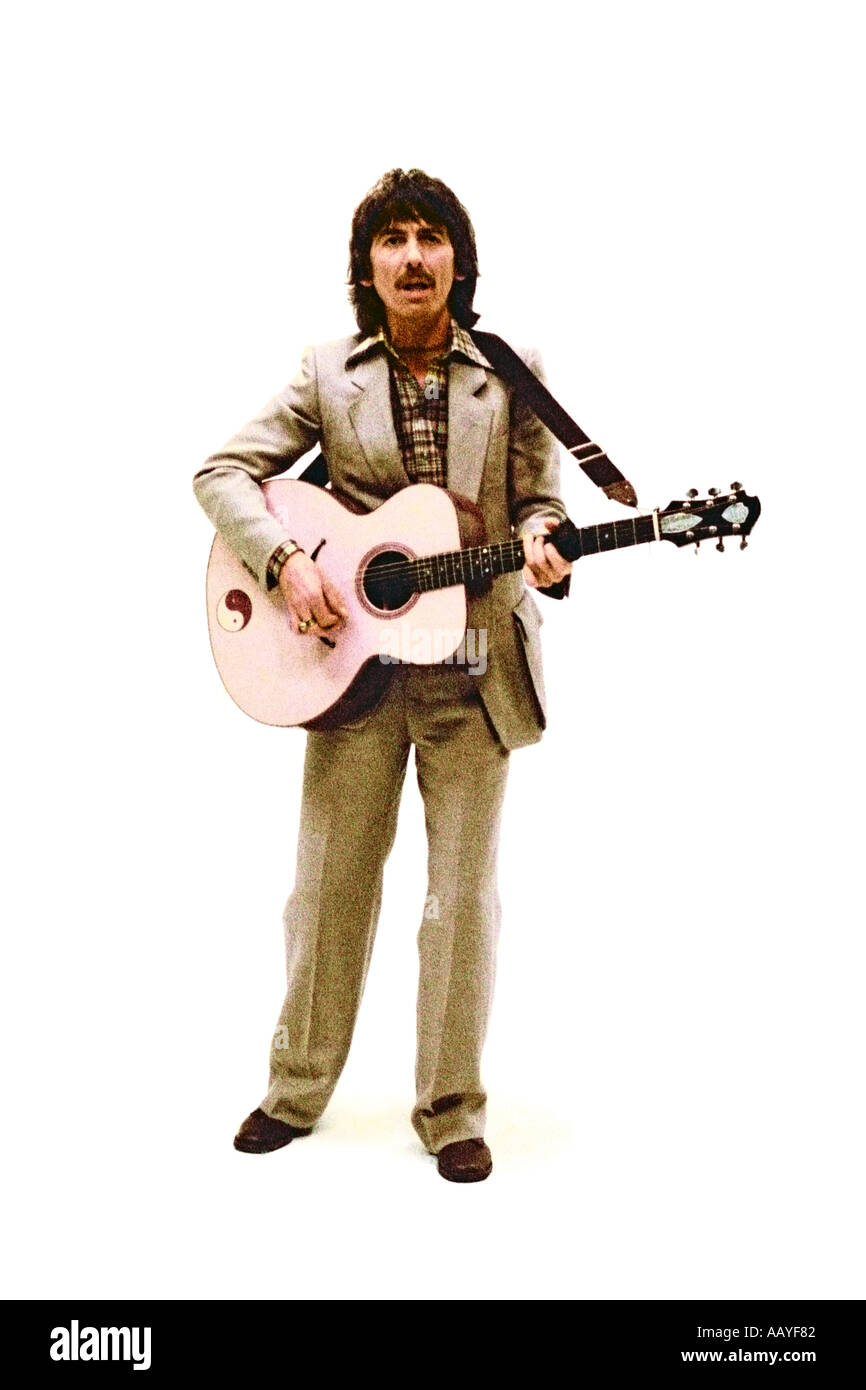 George Harrison making music video for his single Blow Away 1978. PER0043 Stock Photo