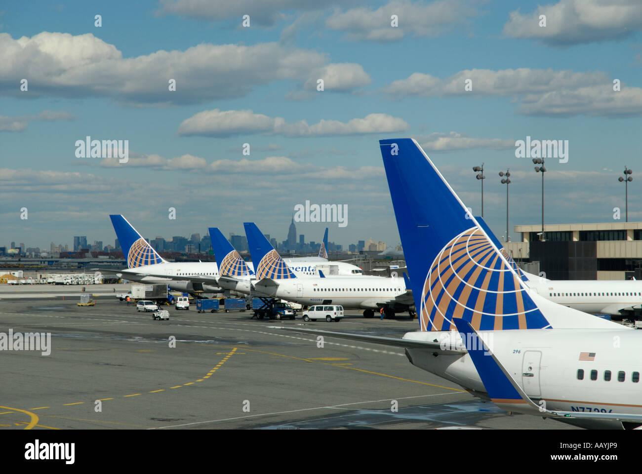 Newark Liberty International Airport, 'New Jersey',USA - Stock Image