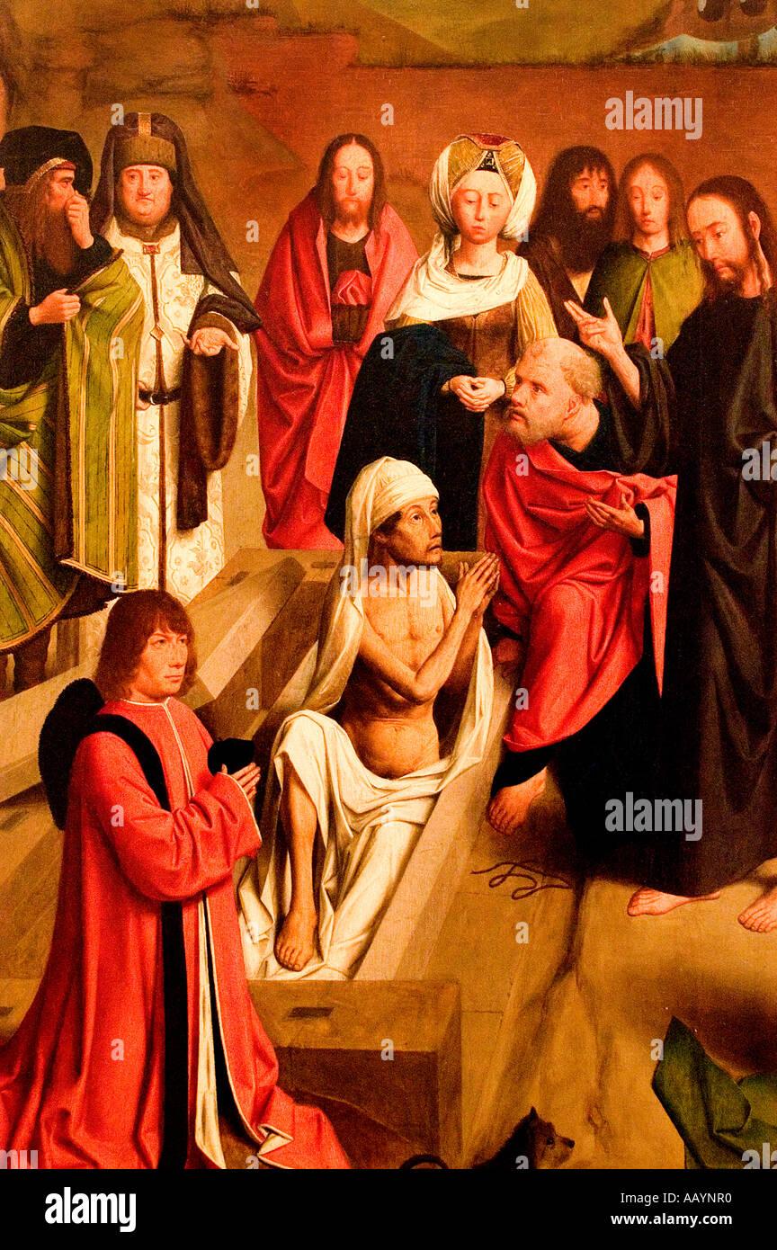 Geerten tot Sint Jans The Resurrection of Lazarus 1480 1484 Stock Photo