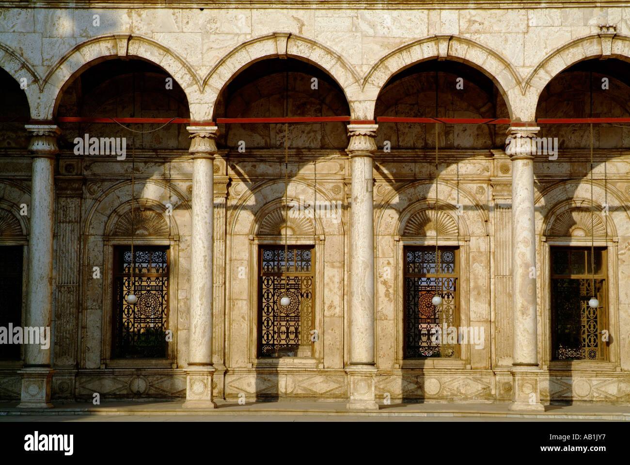Muhammad Ali Mosque,Citadel,Cairo,Egypt. - Stock Image