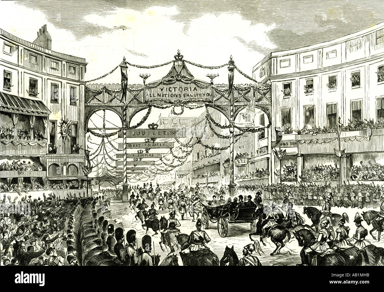 Briefe Queen Victoria : Chronicle london stock photos