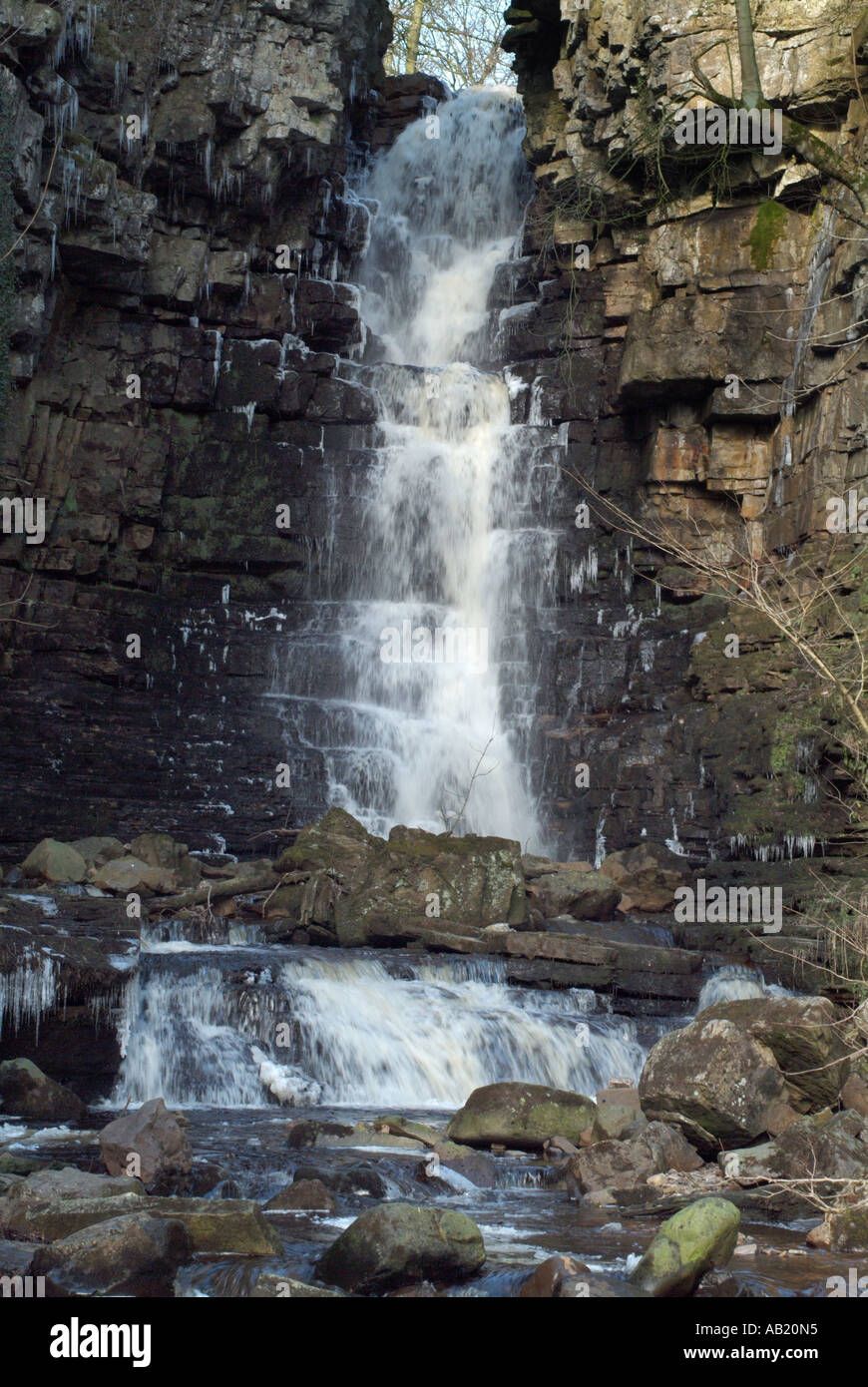Mill Gill force near Askrigg, North Yorkshire, England, UK. Stock Photo