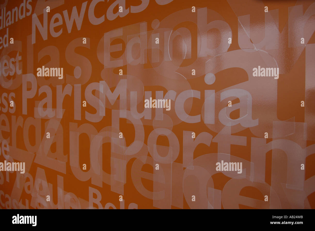 Murcia Spain Spanish Espana Orange Names Cities Destinations
