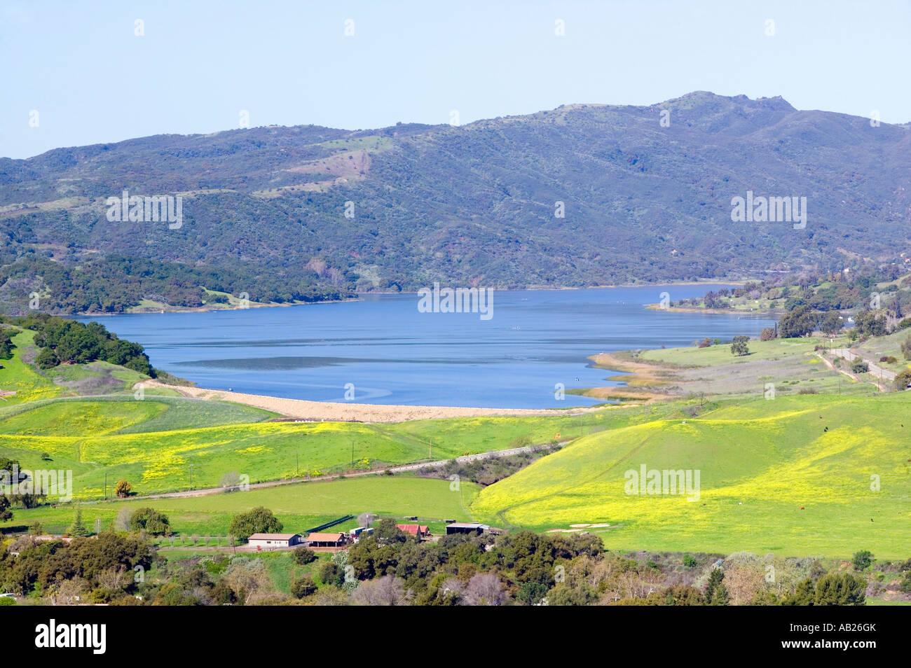 California Coastal Mountain Ranges Stock Photos & California