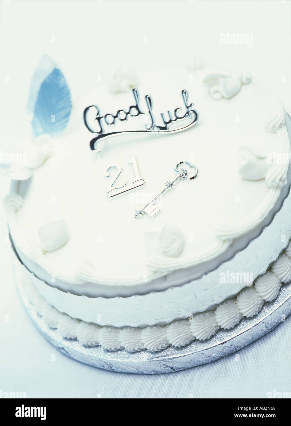 21st Birthday Cake Stock Photos Images