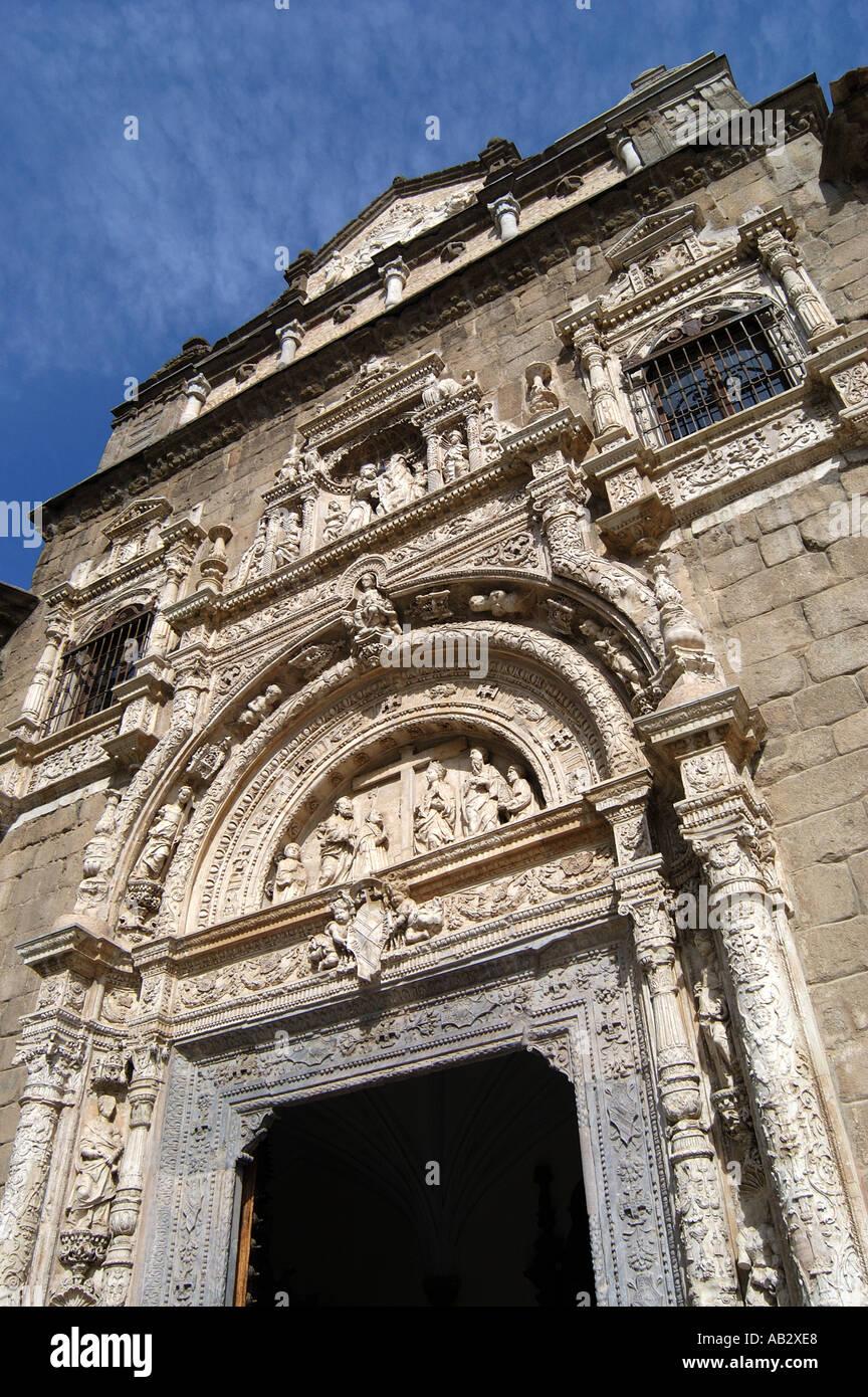 Museo De Santa Cruz.Entrance To Museo De Santa Cruz Toledo Spain Stock Photo 4166375