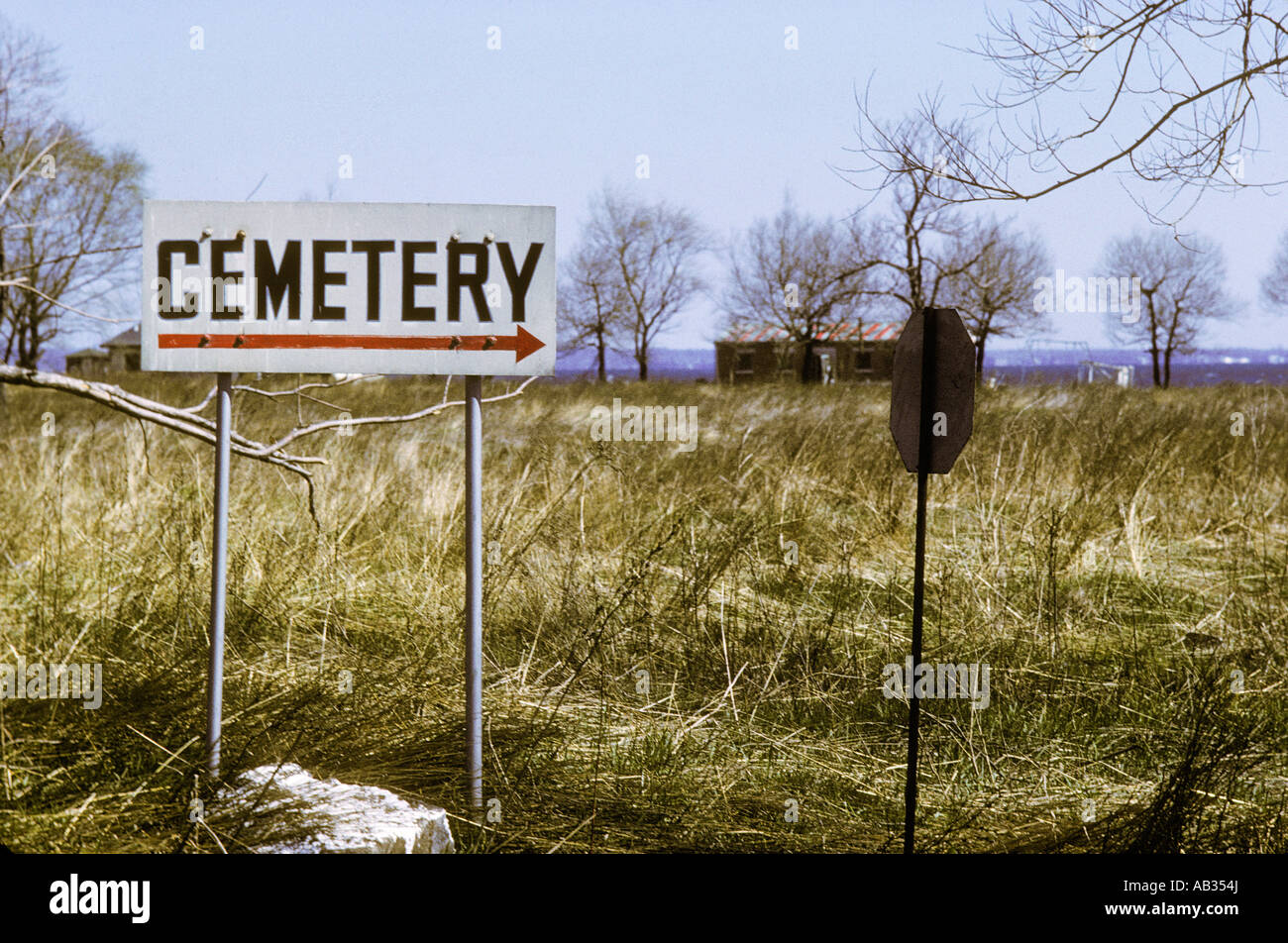 HART Island.  NYC Potters field. Site for temporary burial of Covid-19 victims. Stock Photo