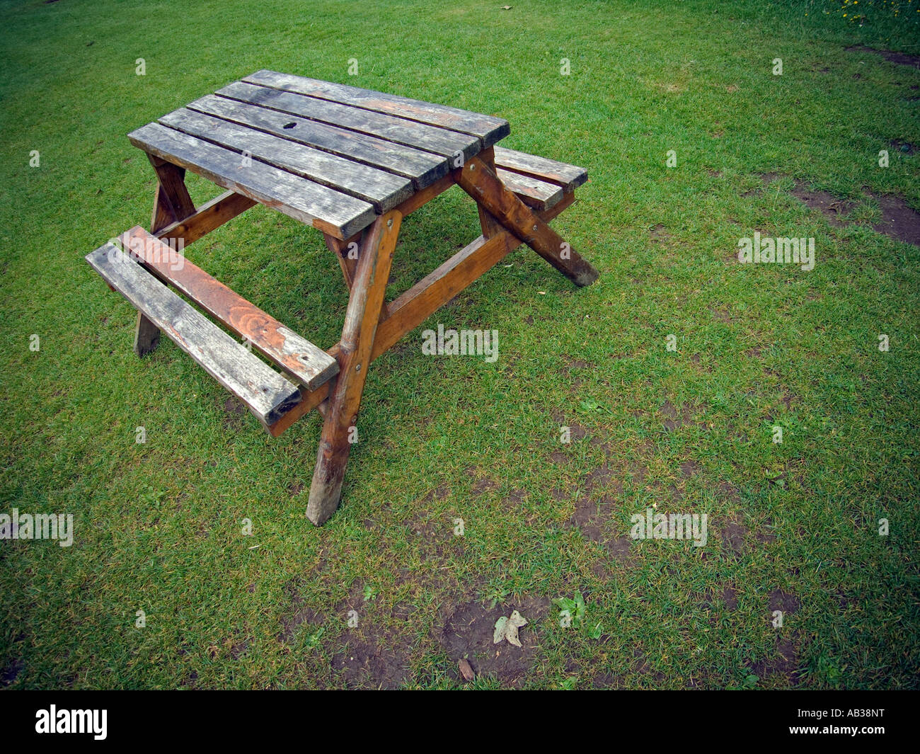 Park Wood Timber Picnic Seat Stock Photos Park Wood Timber Picnic - Timber picnic table