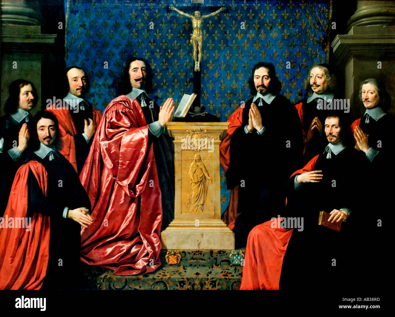 The provost of the merchants dealers Philippe de Champaigne 1602–1674 French Baroque  painter France - Stock Image