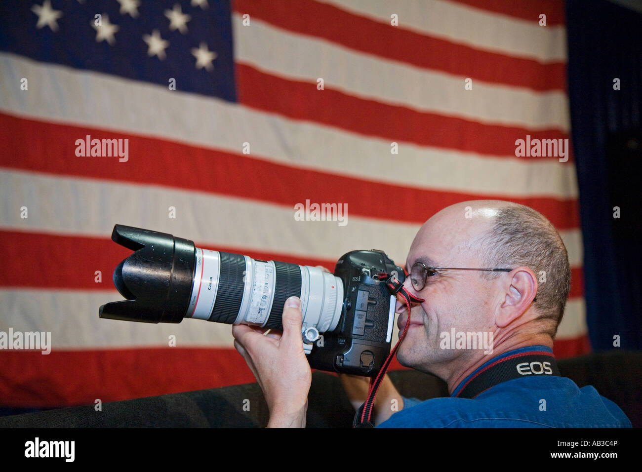 News Photographer - Stock Image