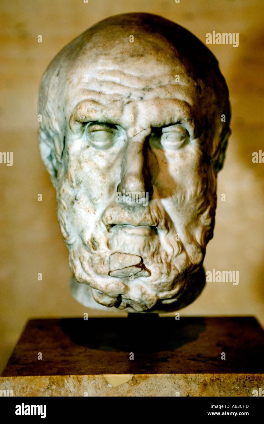 Chrysippe  philosophy philosopher greek greece - Stock Image