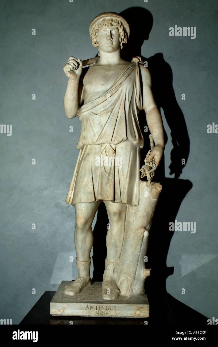 Antinous and Aristee Roman Rome Italy - Stock Image