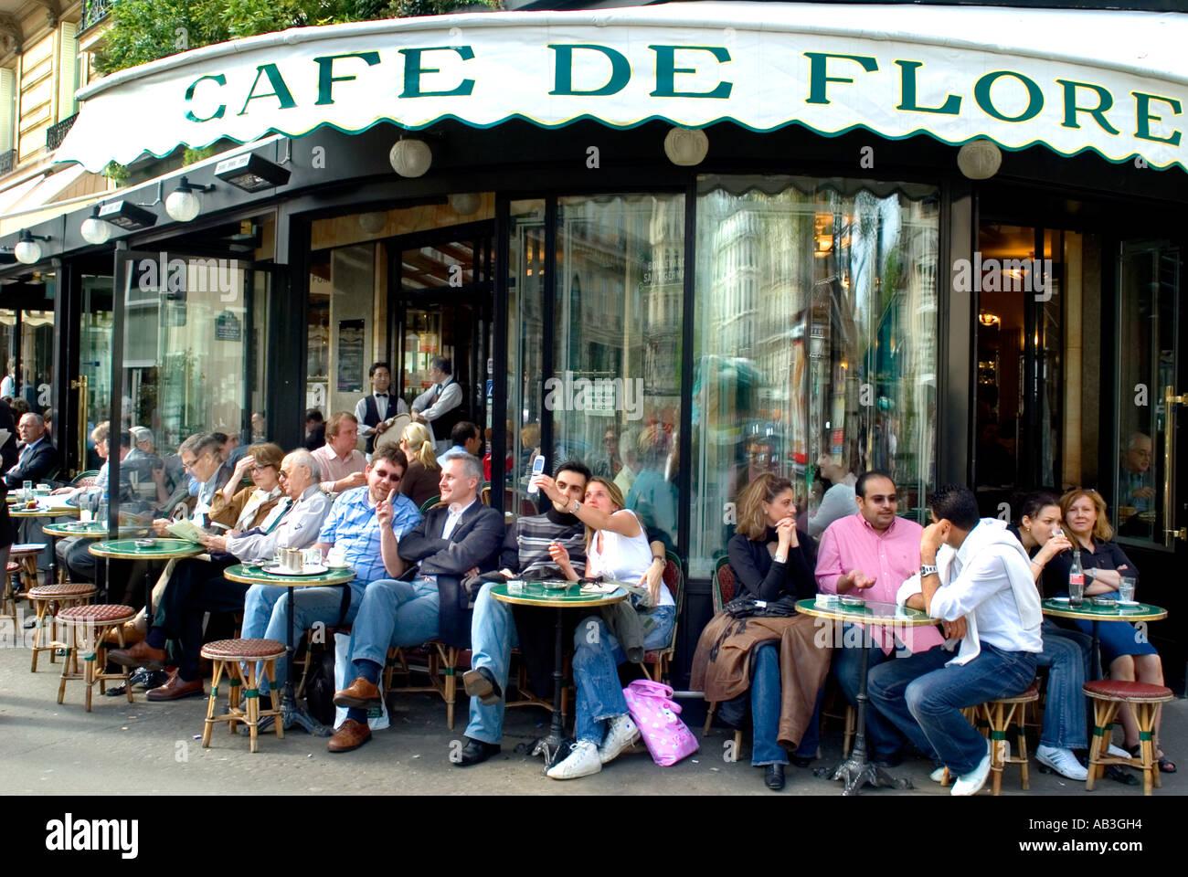 Cafe Flore Paris St Germain