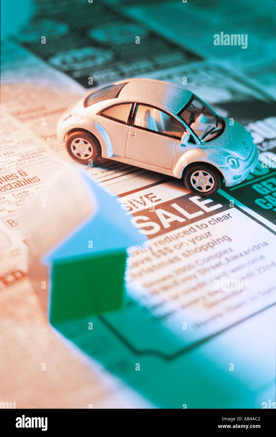Classified Car Ads Stock Photos Classified Car Ads Stock Images