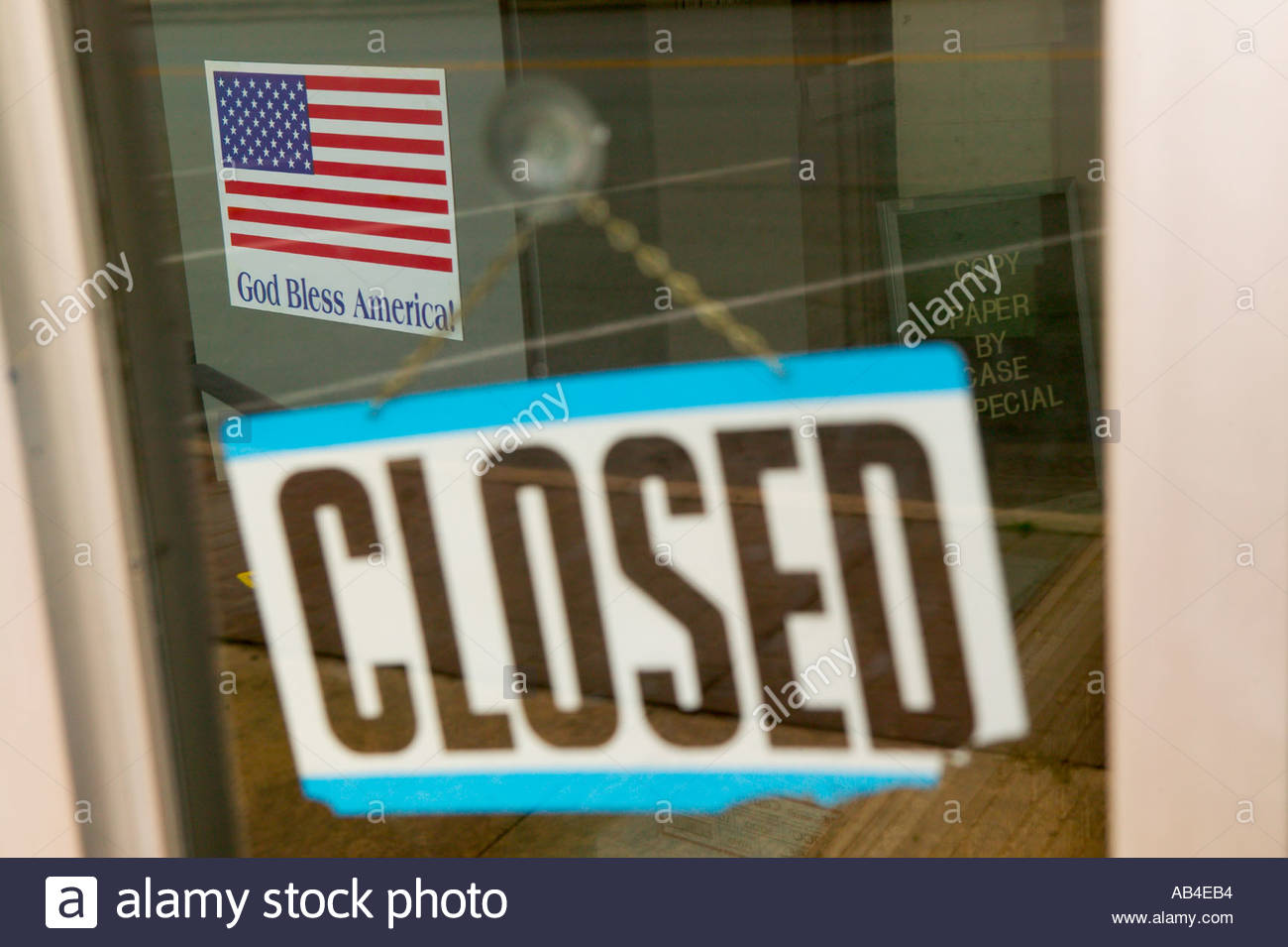 Close door sign closed sign on door of business in small town close door sign closed sign on door of business in small town america close 2 flashek Image collections