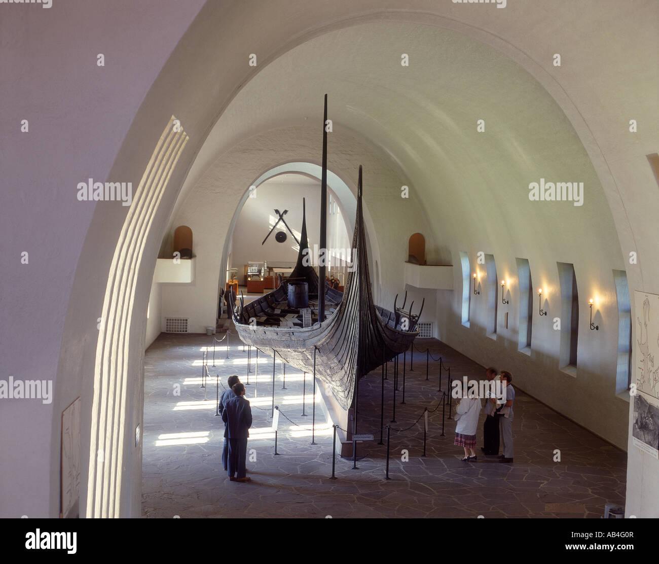 Oslo, Viking Ship Museum - Stock Image