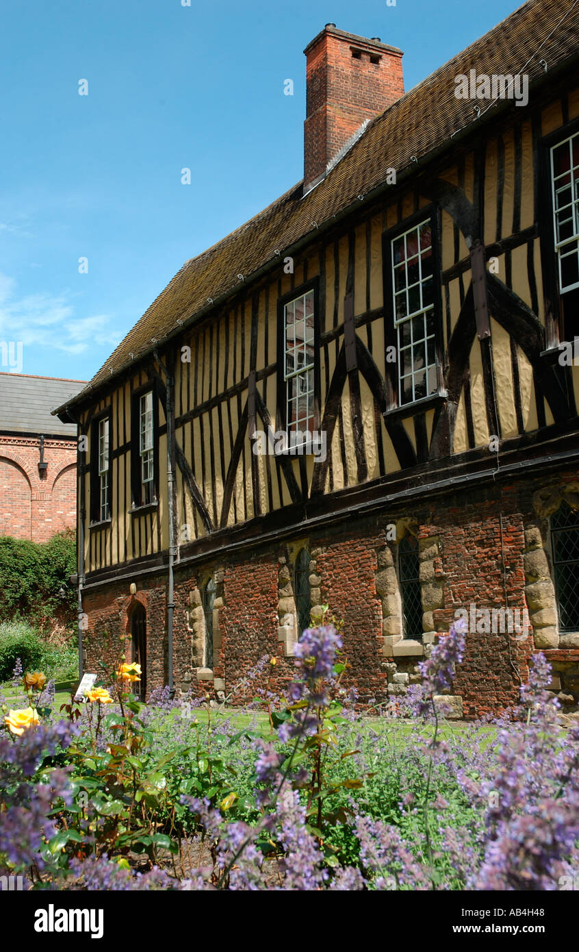 Merchant Adventurers Hall York North Yorkshire England UK United Kingdom GB Great Britain - Stock Image