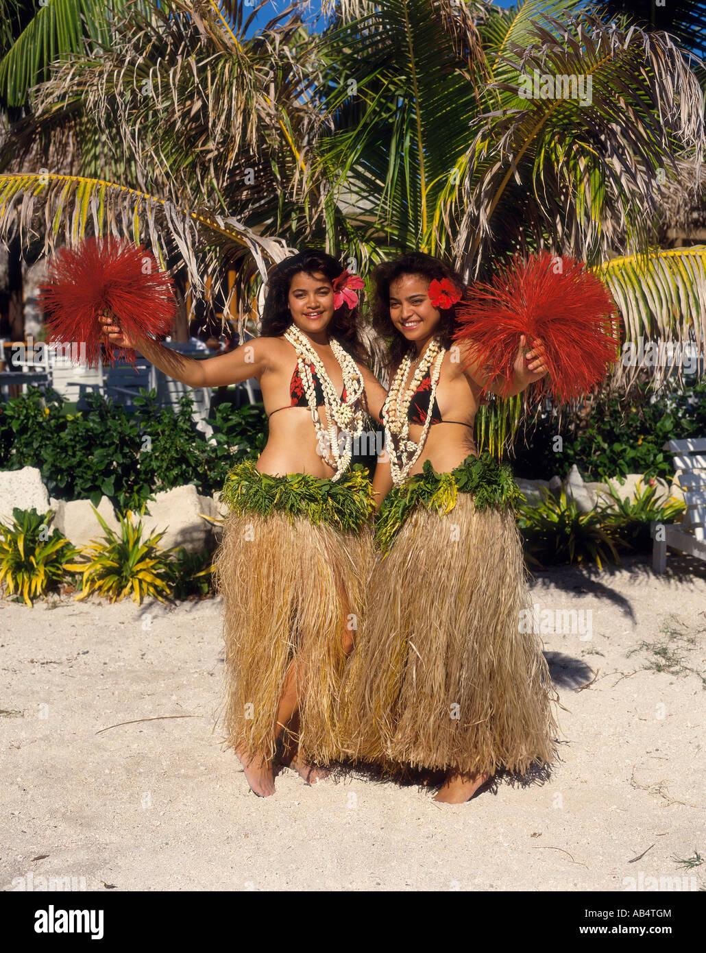 Fiji, Traditional Dancing - Stock Image