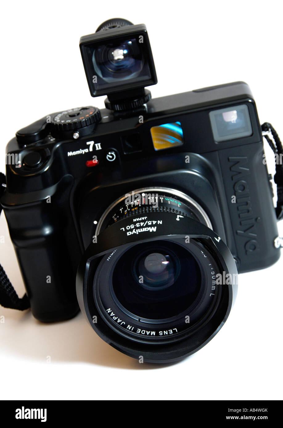 Mamiya 7 Rangefinder Camera  FOR EDITORIAL USE ONLY - Stock Image