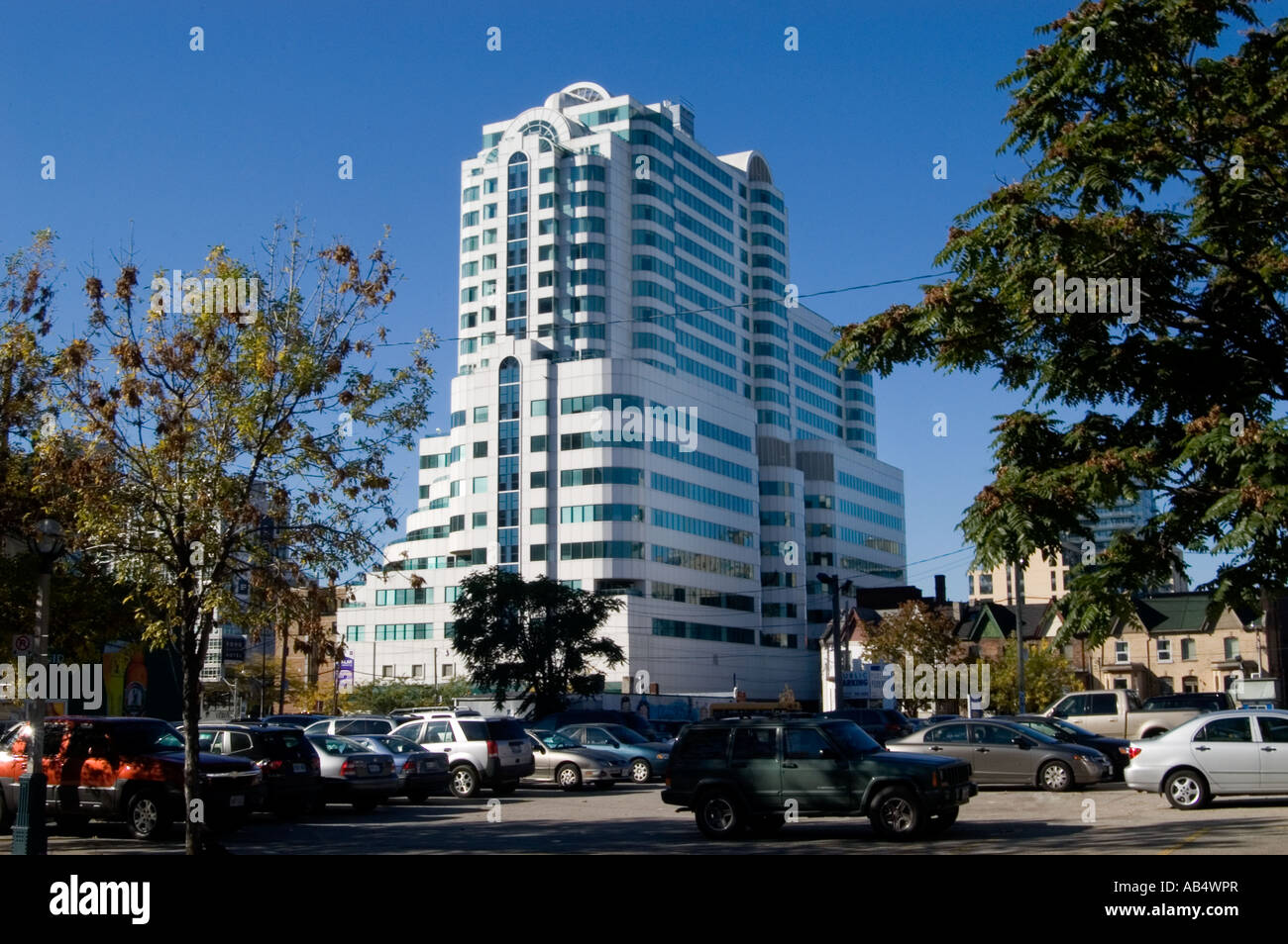 tower block building in toronto canada - Stock Image