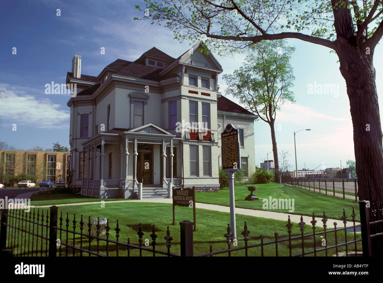 Whaley House an historical Victorian home in Flint Michigan - Stock Image