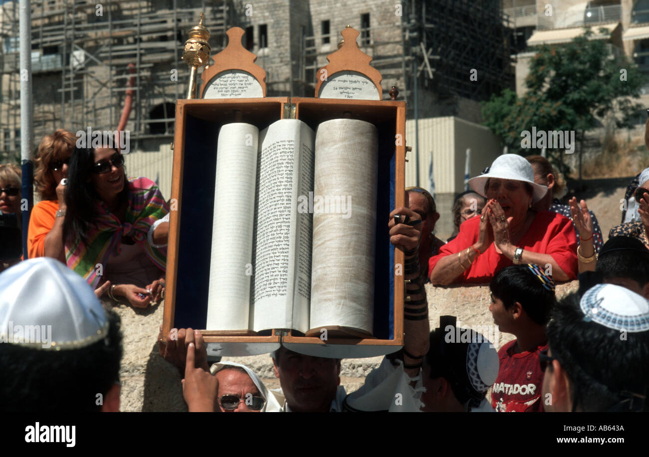 Showing the Torah - Stock Image