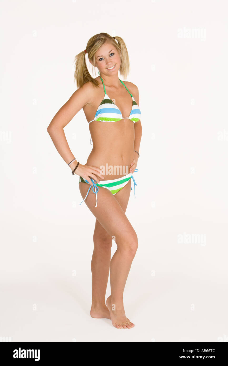 Swimsuit model teen