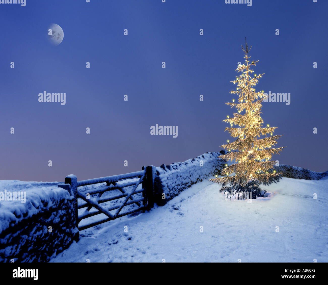GB - GLOUCESTERSHIRE:  Christmas in the Cotsworlds - Stock Image
