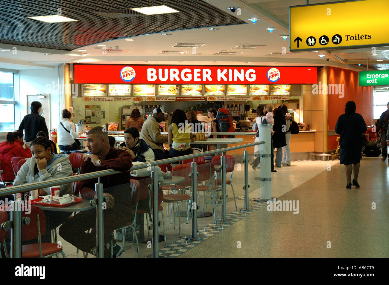 Newcastle Airport Food Court