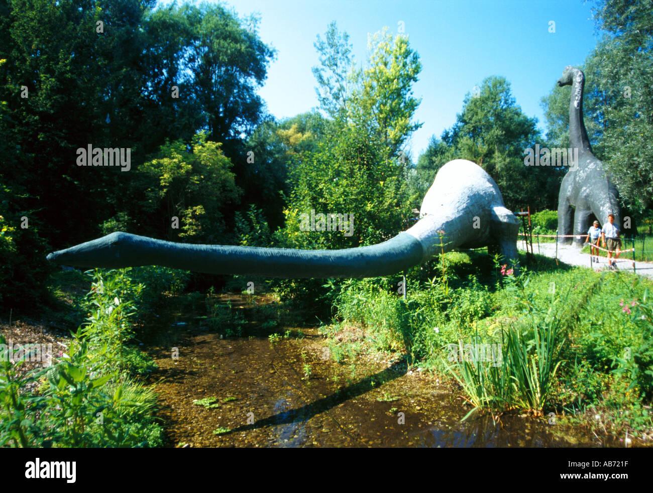 Austria jurassic park dinosaurier - Stock Image