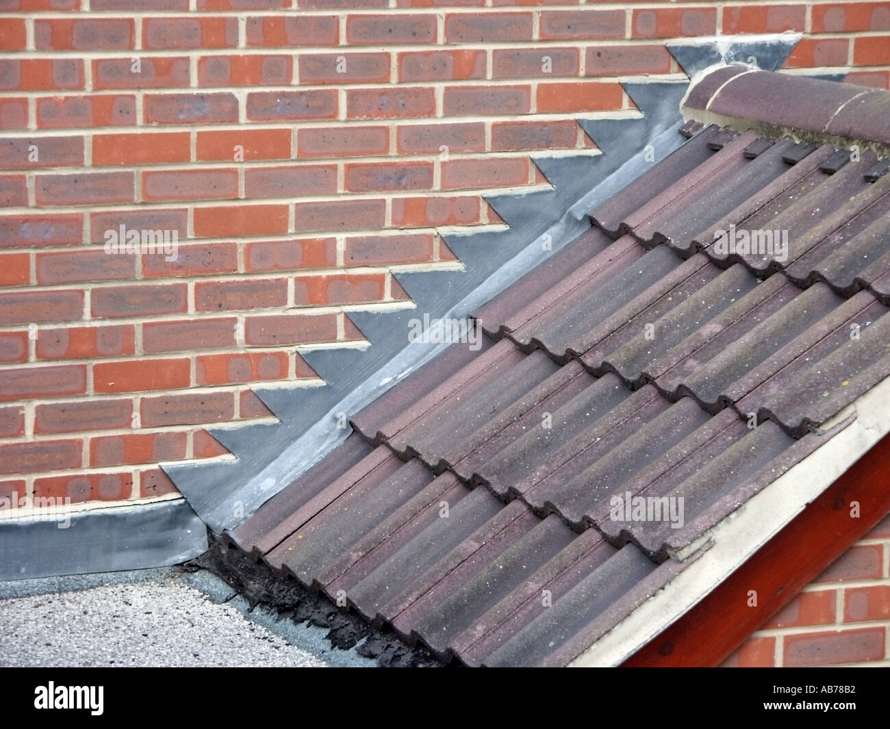 Close Up Of Building Construction Detailing Of Domestic Residential Stock Photo Alamy