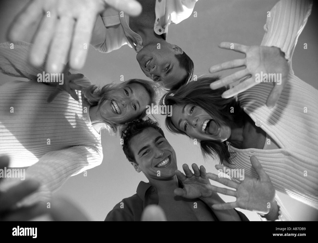Group of friends - Stock Image