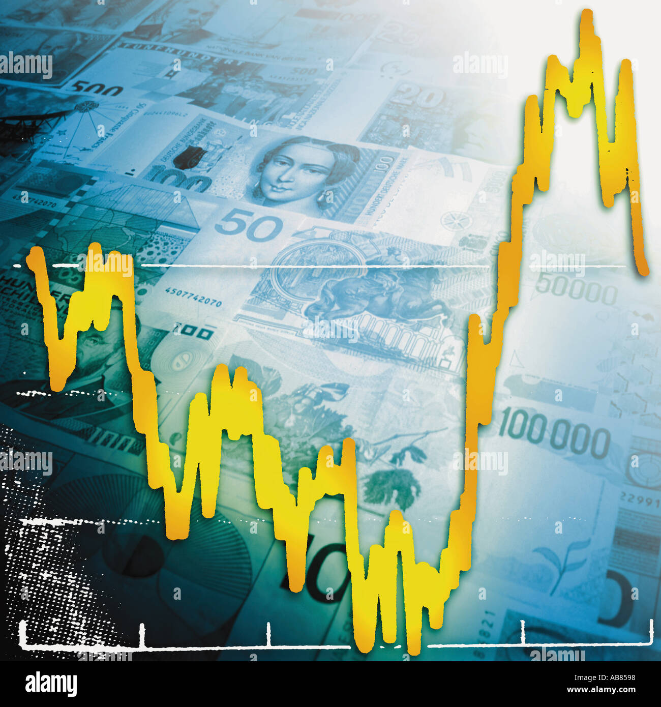 Foreign exchange - Stock Image