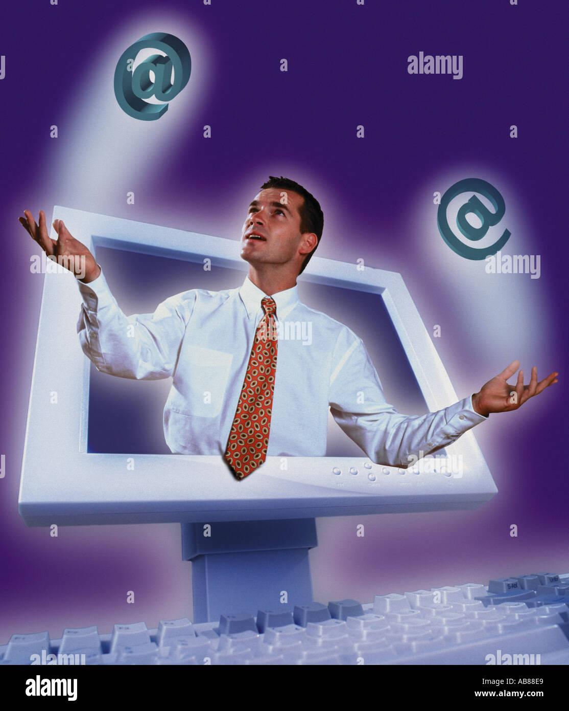 Web access - Stock Image