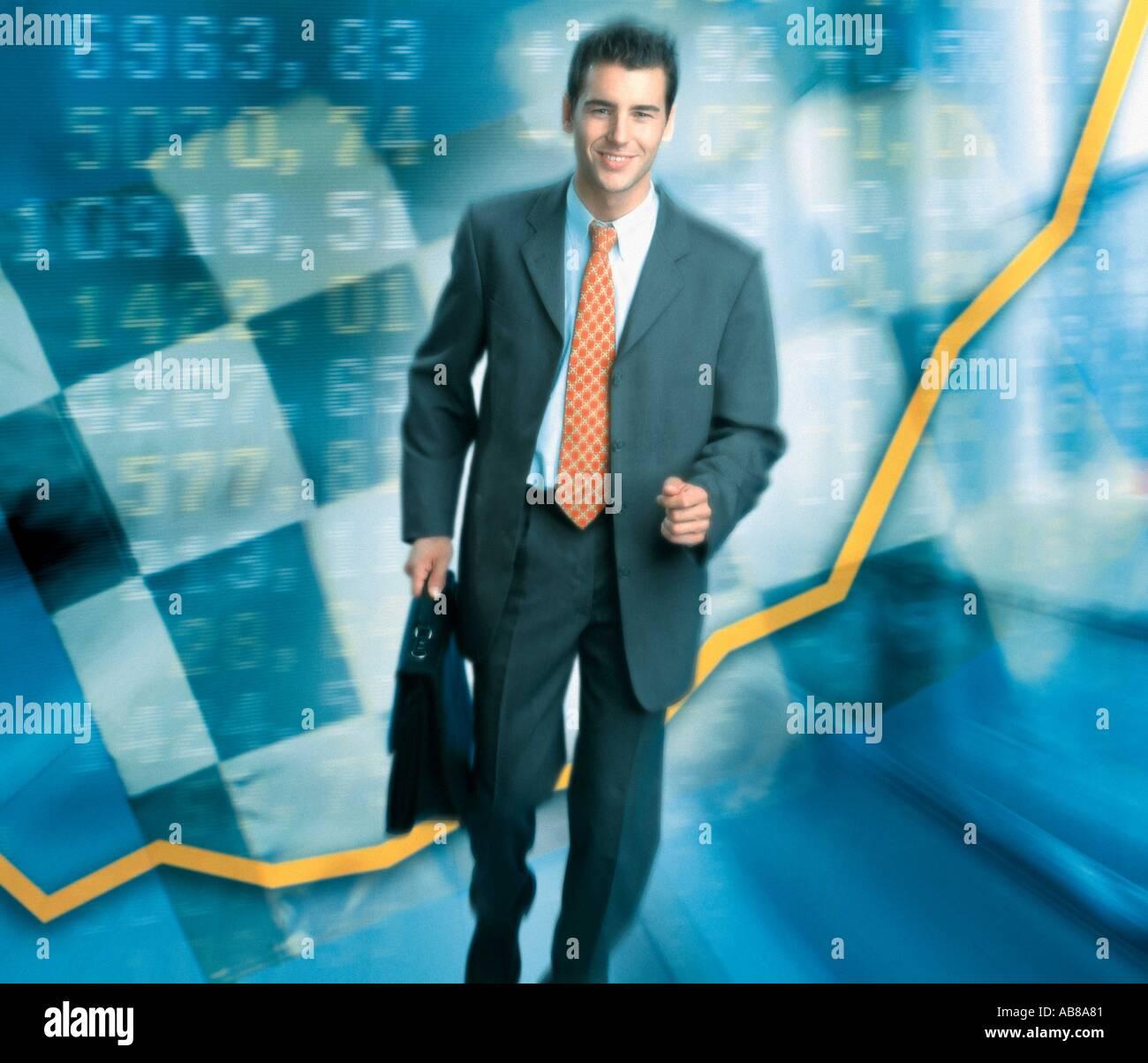 Economic growth - Stock Image