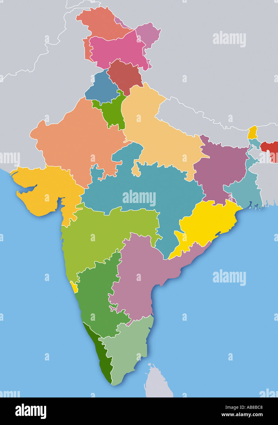 India Map Outline Stock Photos & India Map Outline Stock Images - Alamy