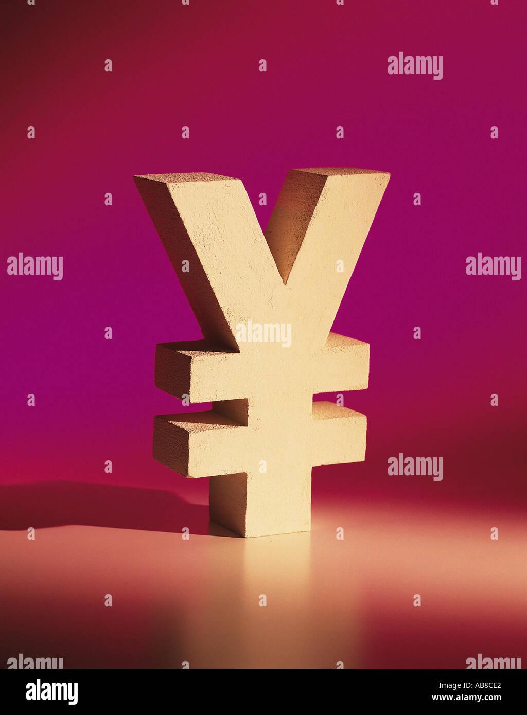 Yen - Stock Image