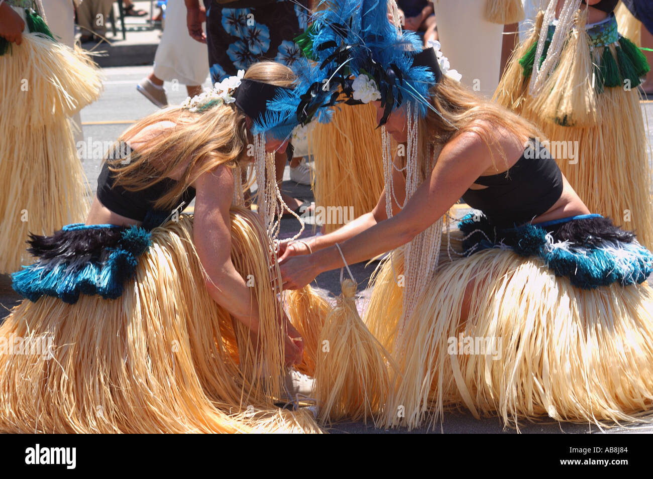 Summer Solstice Parade - Stock Image