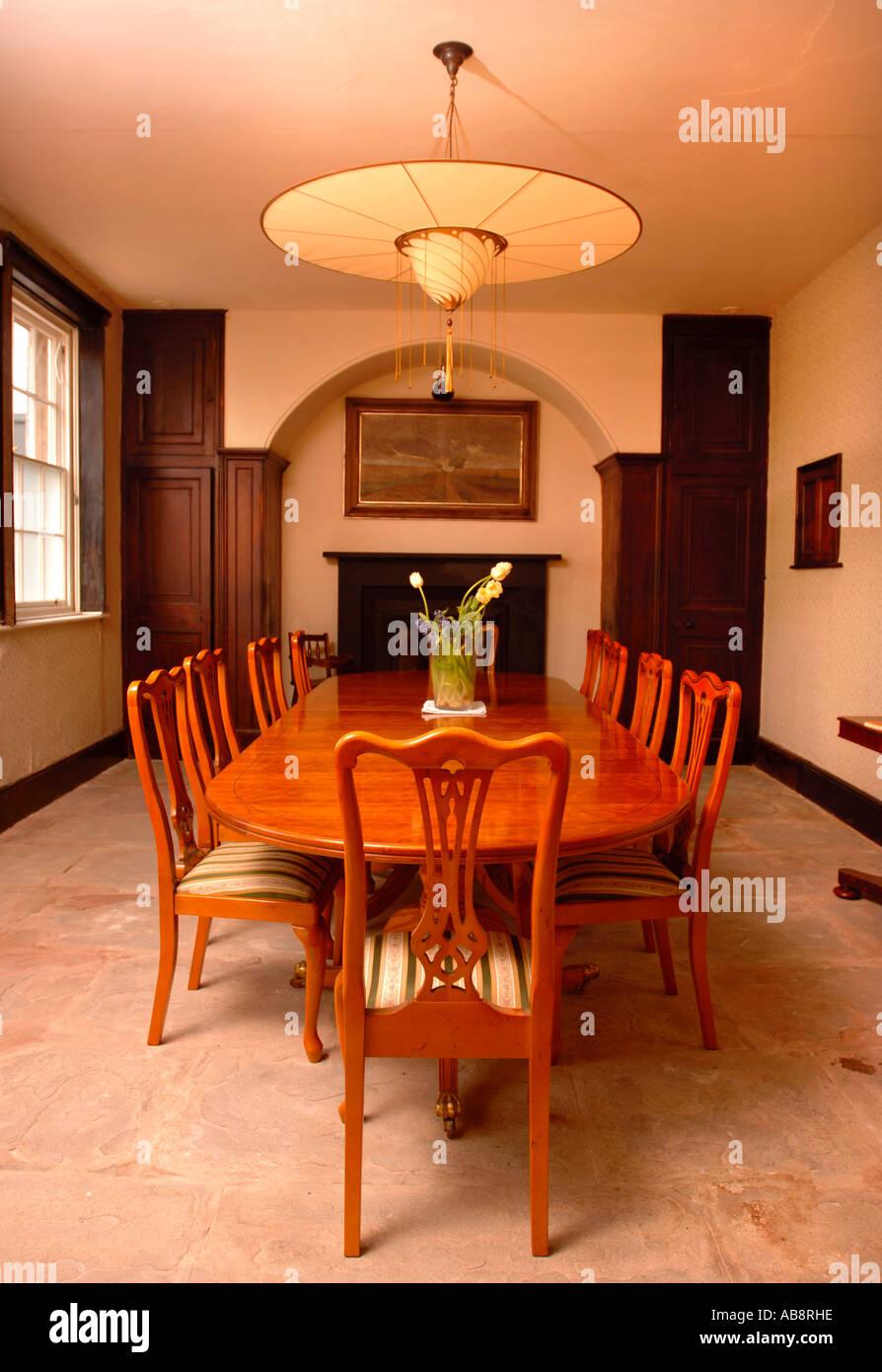 Astonishing A Traditional Dining Room Uk With Regency Styled Ribbon Back Short Links Chair Design For Home Short Linksinfo