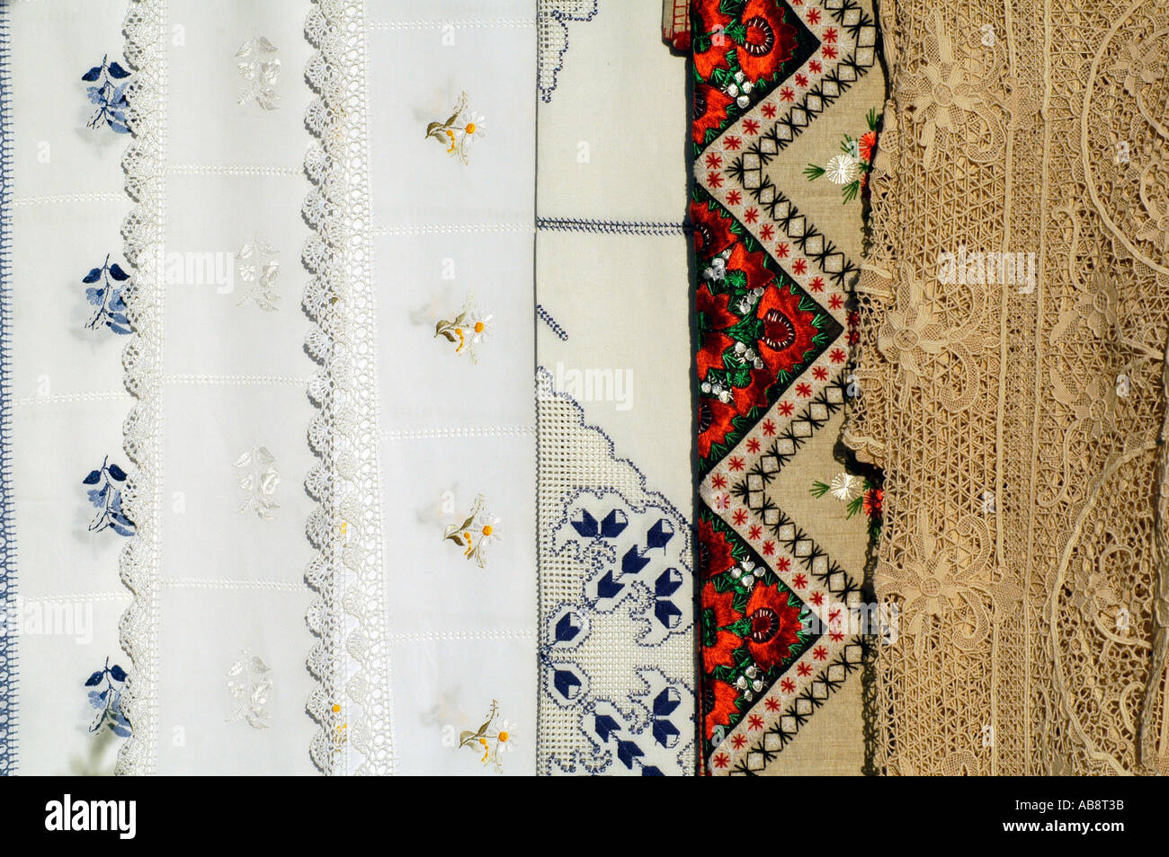Hungarian tapestry - Stock Image