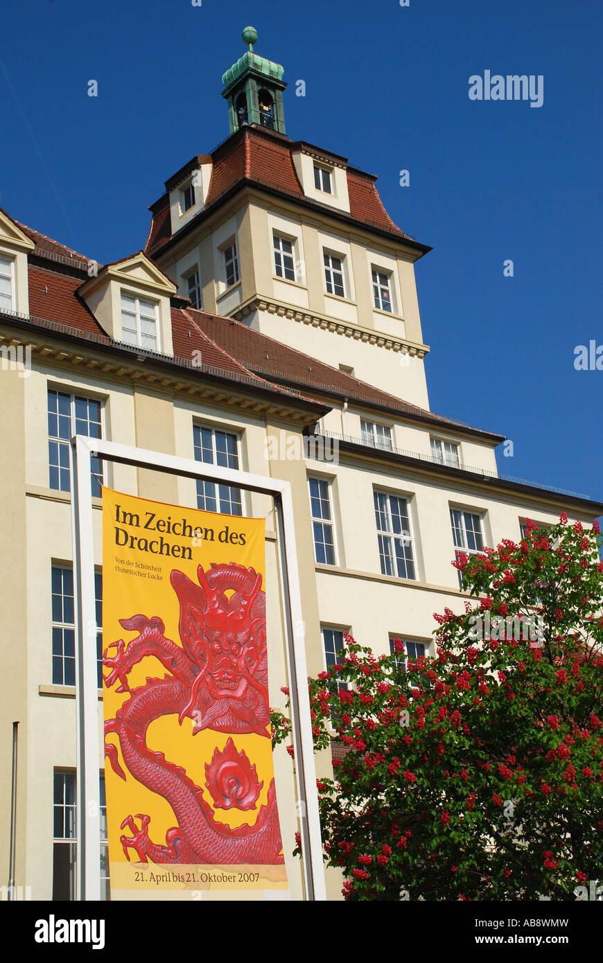 Lindenmuseum Museum für Völkerkunde Stuttgart Baden Wuerttemberg Germany - Stock Image